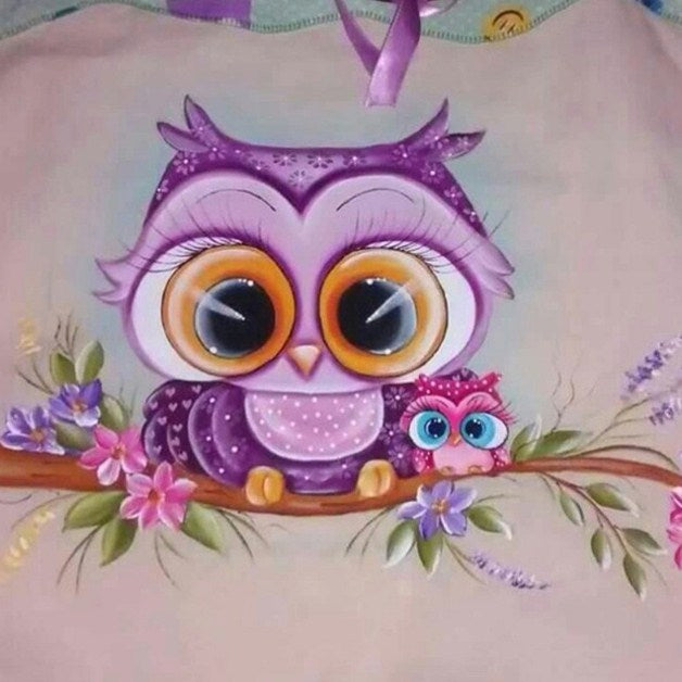 Cartoon Owl Diamond Painting