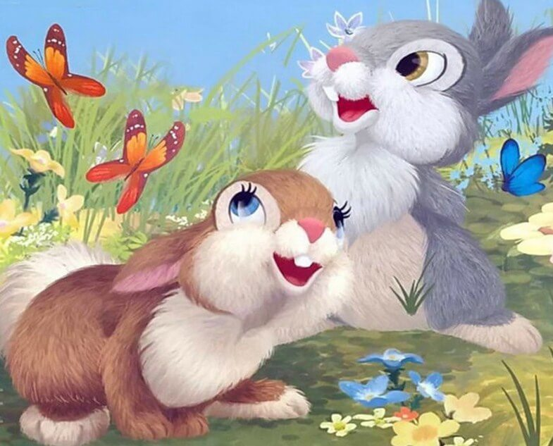 Rabbits Diamond Painting Kit
