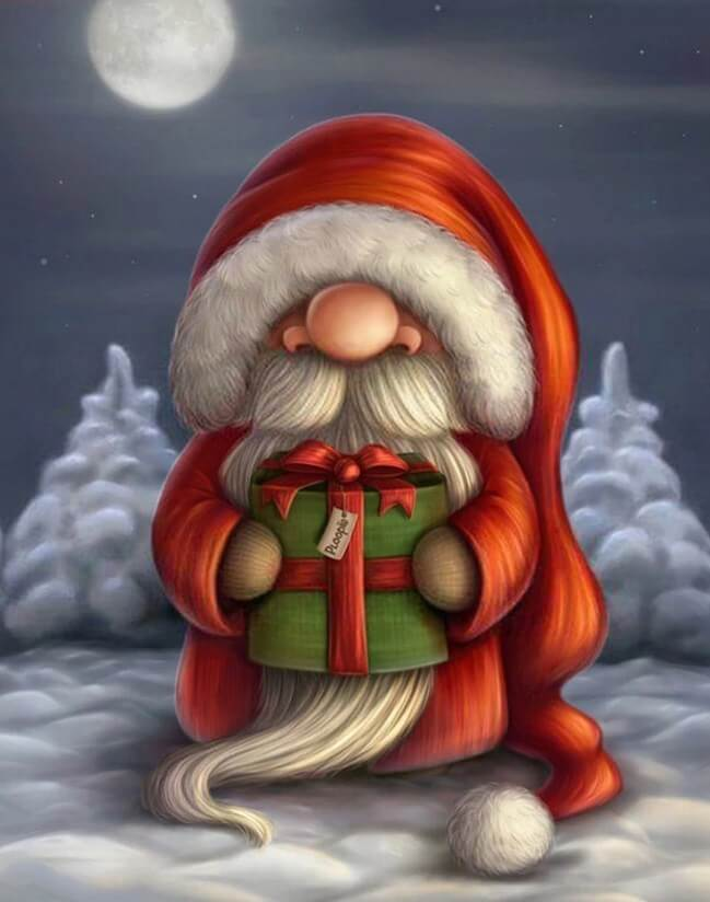 Cartoon Santa Claus Painting Kit