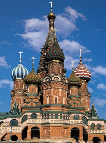 Cathedral in Moscow Paint by Diamonds