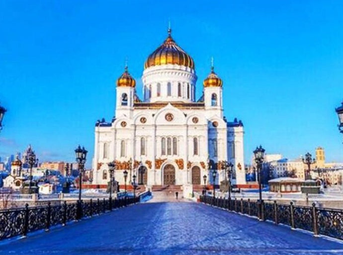 Cathedral of Christ the Saviour Painting Kit