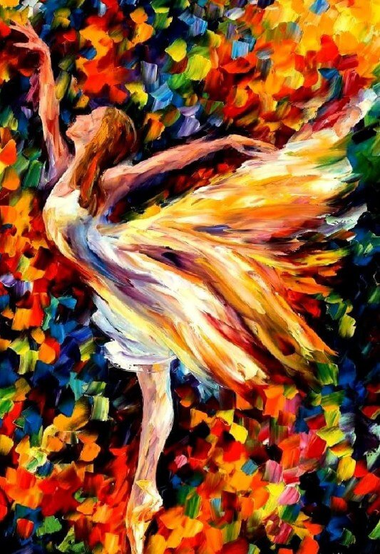 Ballerina Dancer Diamond Painting