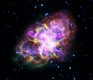 Colorful Crab Nebula Diamond Painting Kit