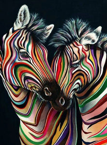 Zebras Diamond Painting Kit