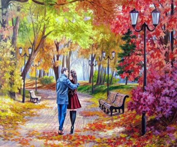 Romantic Couple Diamond Painting