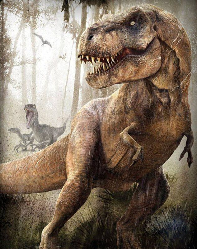 Dinosaur Diamond Painting