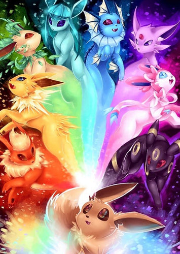 Pokemon Master Paint by Diamonds