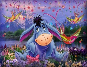 Eeyore from Winnie-the-Pooh Diamond Painting