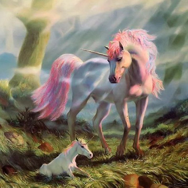 Unicorn Full drill Painting