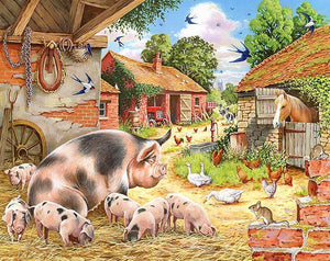 Farm Animals Paint by Diamonds