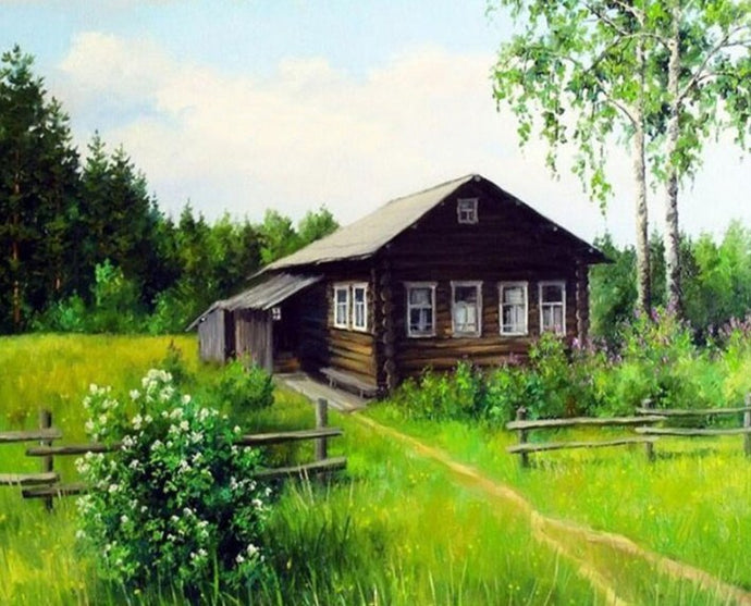 Farm House Diamond Painting