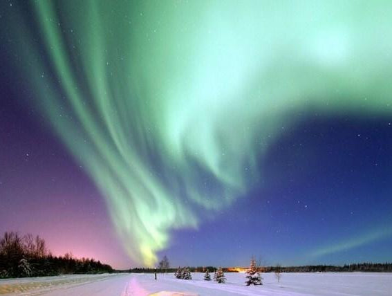 Finland Northern Lights Paint by Diamonds