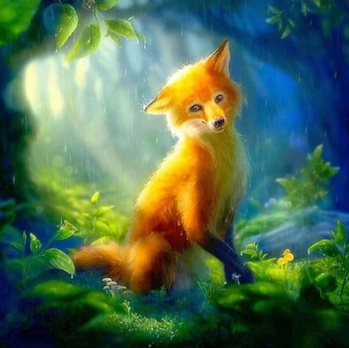 Fox Diamond Art