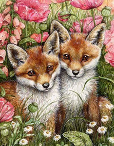Fox DIY Diamond Painting Kit