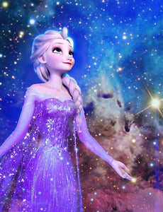 Frozen Elsa Princess Paint by Diamonds