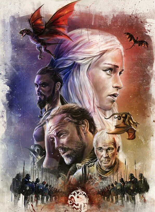 3D Game of Thrones Painting Kit