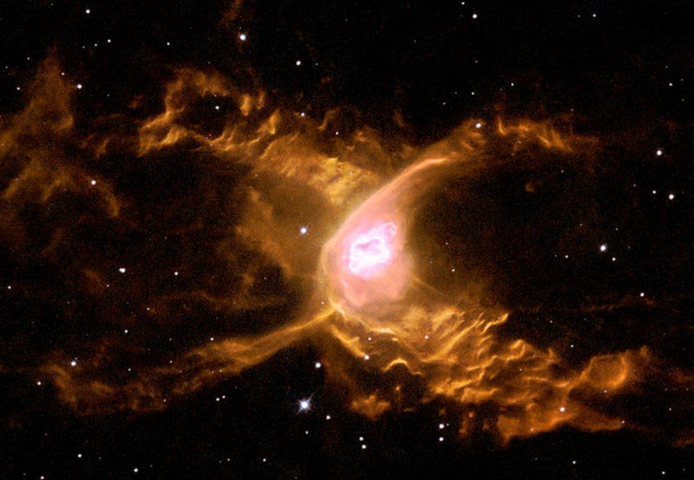 Giant Red Spider Nebula Paint by Diamonds