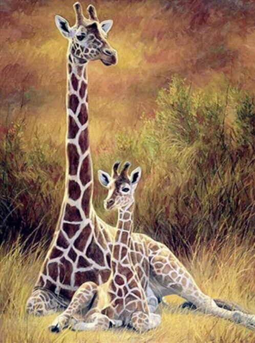 Giraffe DIY Painting Kit