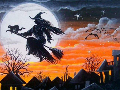 Gypsy Witch Diamond Painting Kit