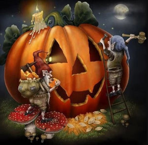 Halloween Preparations Diamond Painting Kit