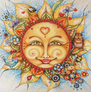 Happy Sun Diamond Painting Kit