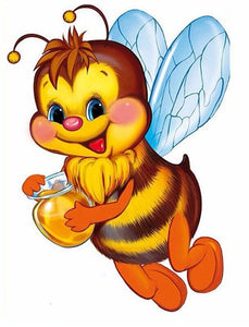 Honey Bee Diamond Painting Kit