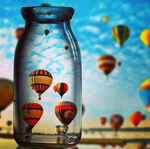 Hot Air Balloons Diamond Painting