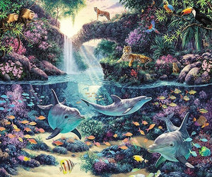 Jungle Diamond Painting Kit