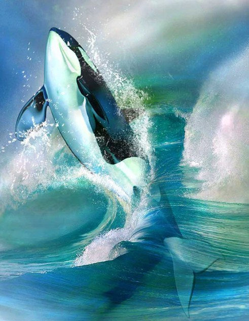 Killer Whale Diamond Painting Kit