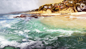 Sea view Diamond Painting