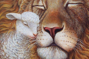 Lamb & Lion DIY Painting Kit