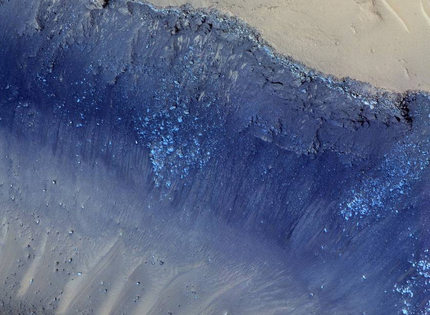Landslides in Mars' Cerberus Fossa Diamond Painting