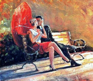 Romantic Couple Diamond Painting Kit