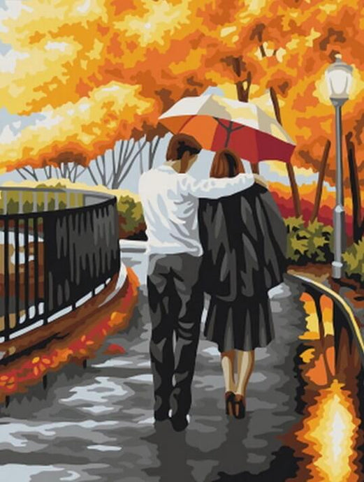 Loving Couple Diamond Painting