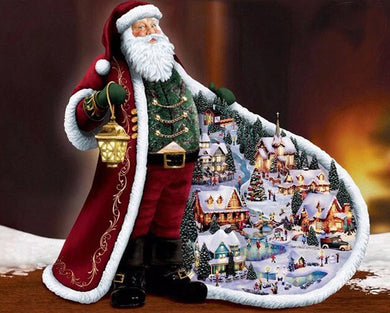 Santa Claus Diamond Painting Kit