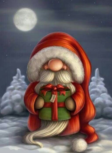 Cartoon Santa Diamond Painting