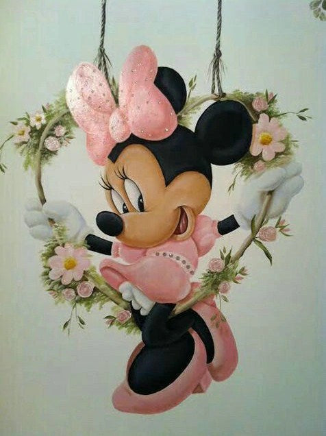 Minnie Mouse Diamond Painting Kit