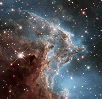 Monkey Head Nebula Diamond Painting Kit