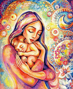 Mother's Love Paint by Diamonds