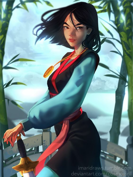 Mulan DIY Diamond Painting