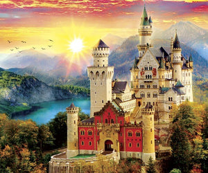 Neuschwanstein Castle Diamond Painting Kit