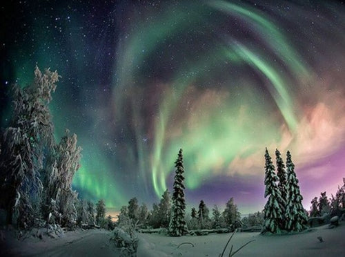 Northern Lights Diamond Painting Kit