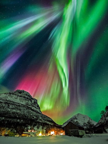 Norway Northern Lights Paint by Diamonds