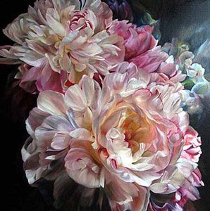 Peony Flower Close up Diamond Painting