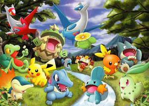 Pokemon Cartoons Diamond Painting Kit