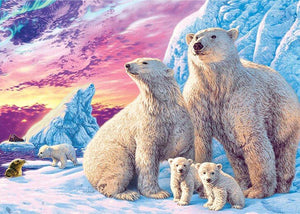 Polar Bears Full Drill painting