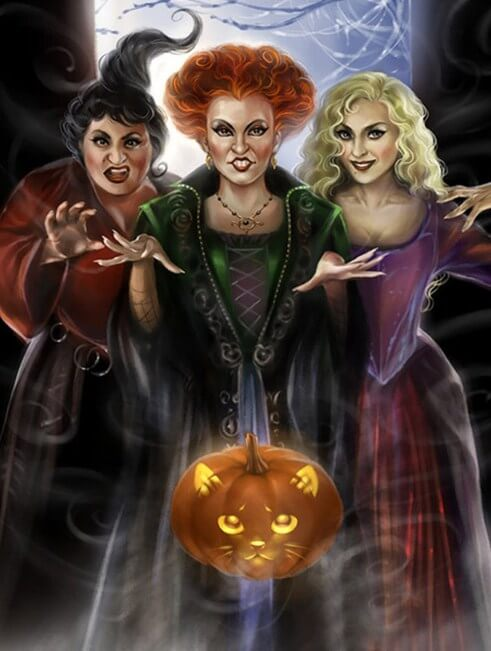 Halloween Witches DIY Diamond Painting