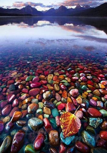 Colorful Lake Diamond Painting