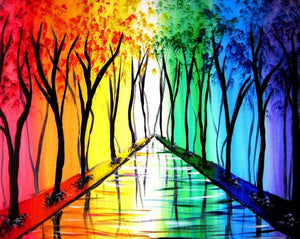 Colorful Trees Diamond Painting