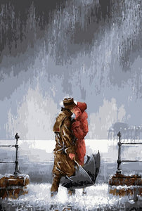 Couple Kissing Diamond Painting Kit